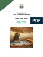 2011 GGC Hawaii Senate Exec Summary