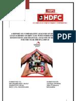Summer Training Project Report on HDFC LTD.