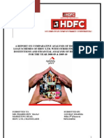Summer Training Project Report on HDFC LTD.