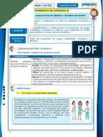 Actividad Del Area de Comunicacion 11-05-2021