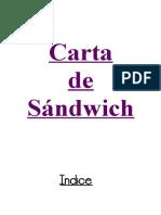 trabajo de sandwich