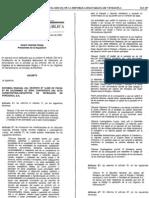 reforma parcial del decreto n° 3
