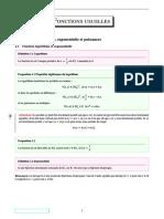 CHAP4-Fonctions Usuelles
