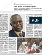 PACTED Conference - Lomé, Togo - PACTED 1 prend fin sur les notes d'espoirs