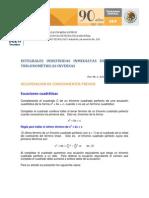 INTEGRALES INDEFINIDAS INMEDIATAS DE FUNCIONES TRIGONOMÉTRICAS INVERSAS