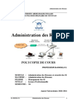 ADMINISTRATION DES RESEAUX