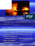 Oil Spills Power Point