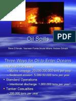 Oil Spills Power Point