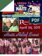 Haiti Fundraiser Program - April 26 2011 by Reiser Relief