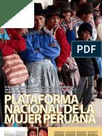 Encarte Plataforma Nacional de La Mujer Peruana