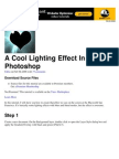 A Cool Lighting Effect In Photoshop   Psdtuts+