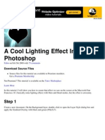A Cool Lighting Effect In Photoshop | Psdtuts+