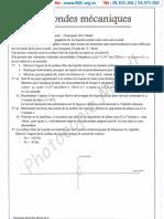 Série Révision - Les Ondes Mécaniques - Mr Mtibaa- Sfax