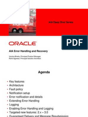 AIA_Error_Handling_And_Recovery | Application Programming Interface