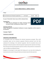 ELECTRICAL MAINTENANCE PRINCIPLES & APPLICATIONS (1)