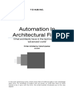 Automation in Architectural Firms