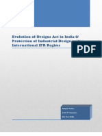 Evolution of Designs Act in India & Protection of Industrial Designs under International IPR Regime