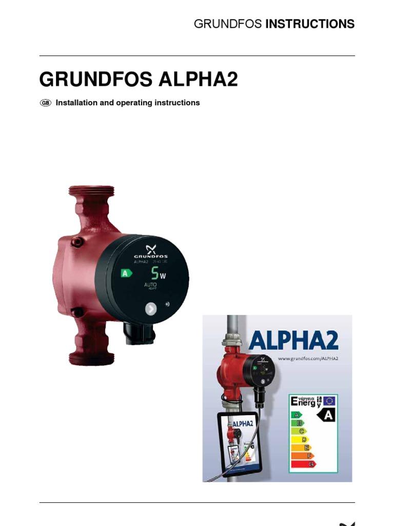 grundfos alpha 2 instructions