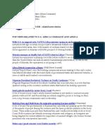 AFRICOM Related News Clips 19 April 2011