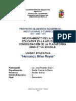 Ut 3. Sistematizacion Uso Plataforma. Lic. Jose Ricardo Diez Tirado