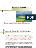46015335 Ekologi Lingkungan Binaan Kuliah 3 Rev