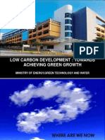 Punitha Silvarajoo. Malaysia - Low Carbon Development - Towards Achieving Green Growth