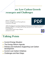 Jesus Tamang. Philippines. Low Carbon Growth Strategies and Challenges