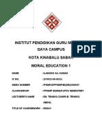 Moral(English Language Society) by Ilanggo