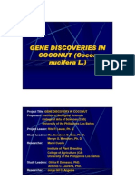 Gene discoveries in coconut (Cocos nucifera L.)