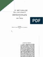 Liga Natiunilor - Ion Mota