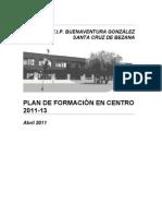 PLAN DE FORMACIÓN 2011-13