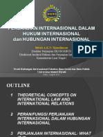 Perjanjian Internasional dan Hubungan Internasional