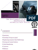 New developments in design and manufacturing automotive bulb shields by Avinash G