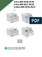 manuale stampante hp