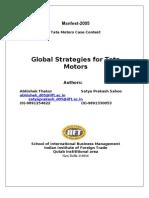TM global strategy