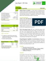 Muthoot Finance Ltd. - IPO Note
