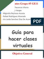 _ Guía para hacer clases  virtuales