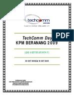 KERTAS KERJA TechComm Day 2009