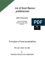 flavour preferences