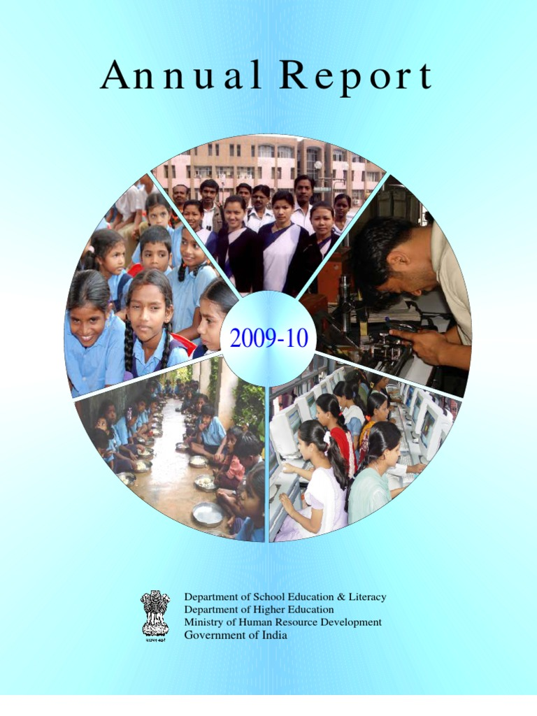 Annual report hrd vocational education primary education fandeluxe Images