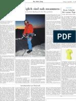 Neue Zürcher Zeitung 8. April 2011
