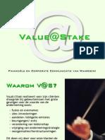 VALUE@STAKEbedrijfspresentatie