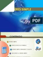 MATEMATICAS FINANCIERAS-INTERES SIMPLE