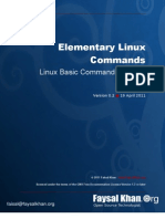 Elementary Linux Commands