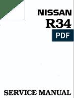 nissan skyline r34 workshop manual english throttle turbocharger rh scribd com
