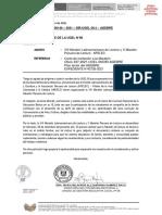 OFICIO MÚLTIPLE N° 00146-MARATÓN DE LECTURA