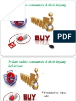 study of Indian online consumers & their buying behaviour(vikas)