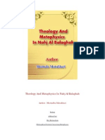 Theology and Metaphysics in Nahj Al Balaghah