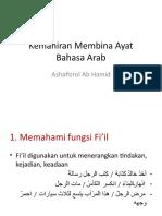 Kemahiran Membina Ayat Bahasa Arab