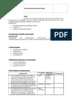 QM-Verfahrensanweisung Audit